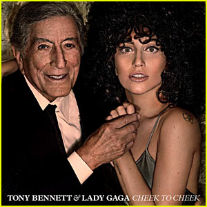 Lady Gaga Reveals Album Artwork for 'Cheek to Cheek' with Tony Bennett!