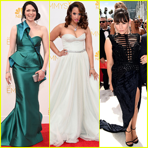 Laura Prepon & 'Orange is the New Black' Ladies Hit the Emmys 2014!