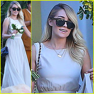 Lauren Conrad Walks Down the Aisle as a Bridesmaid in Friend's Wedding!