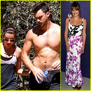 Lea Michele's Boyfriend Matthew Paetz Shows Off Shirtless Bod!