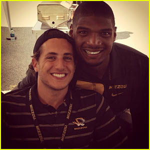 Michael Sam's Boyfriend Vito Cammisano Shows Support After Getting Cut from the Rams