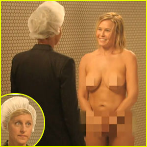 Nude Chelsea Handler Gets Confronted By Ellen DeGeneres In Funny 'Chelsea Lately' Finale Skit - Watch Now!