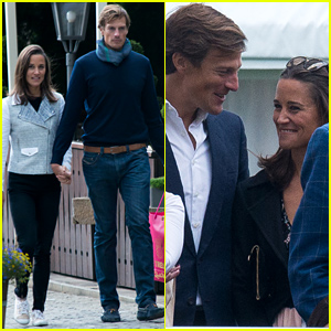 Pippa Middleton & Boyfriend Nico Jackson Enjoy Romantic Weekend Getaway - See the Cute Pics!