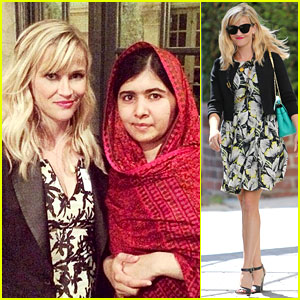 Reese Witherspoon Felt Honored to Dine with Malala Yousafzai