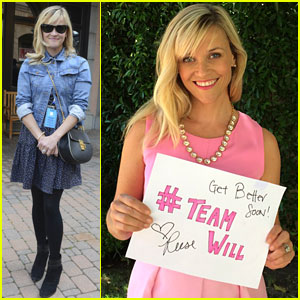Reese Witherspoon Brings Elle Woods Back to Cheer Up a Sick Little Boy