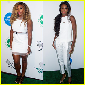 Serena Williams Cooks Up a Storm at the Taste Of Tennis Gala 2014 with Sister Venus!