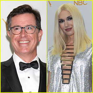 Stephen Colbert Responds to Gwen Stefani's Emmys Flub
