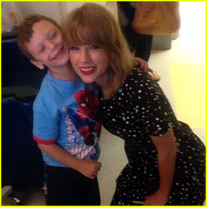 Taylor Swift Visits Young Can
