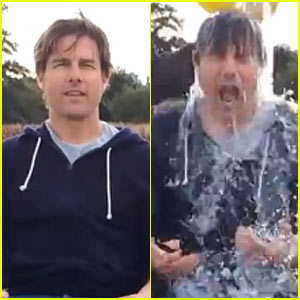 Tom Cruise Completes ALS Challenge with 8 Buckets of Ice!