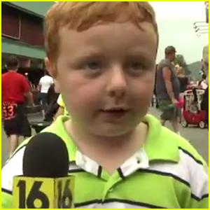 'Apparently' Kid Noah Ritter Gives Most Adorable Interview on Live TV - Watch Now!