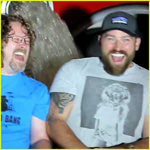 Zac Brown Band Uses a Fire Truck for ALS Ice Bucket Challenge!