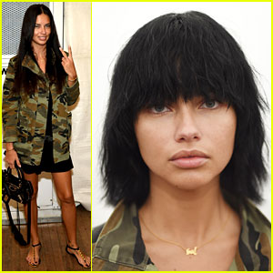 Adriana Lima Gets a Major Make-Under for Marc Jacobs Show
