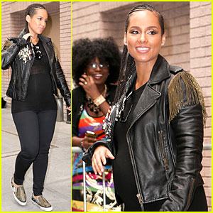 Alicia Keys Reveals Pregnancy Due Date on 'The View' - Watch Now!
