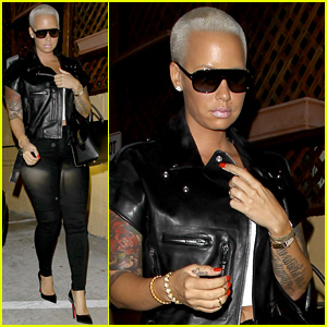 Amber Rose Emerges Without Her Wedding Ring After Accusing Wiz Khalifa of Cheating