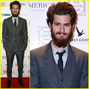 Andrew Garfield Rocks Bushy Beard at '99 Homes' TIFF Premiere