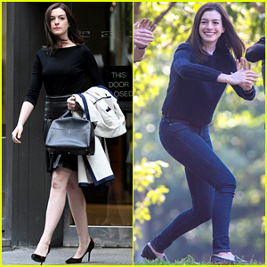 Anne Hathaway Does Tai Chi with Robert De Niro Again!