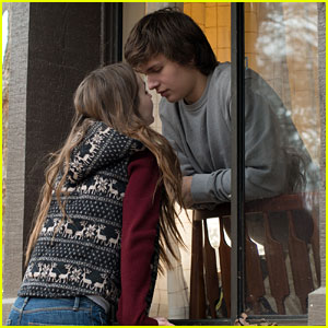 Kaitlyn Dever Climbs Into Ansel Elgort's Window in New 'Men, Women, & Children' Stills (Exclusive)