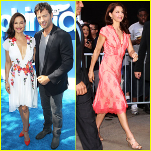 Ashley Judd Joins Harry Connick Jr. for 'Dolphin Tale 2' Los Angeles Premiere!