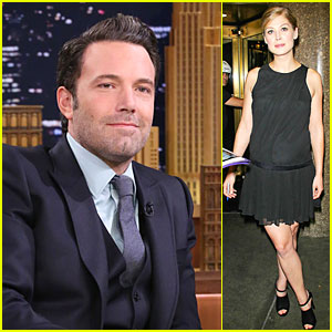 Ben Affleck Says Rosamund Pike Killed It In 'Gone Girl'!