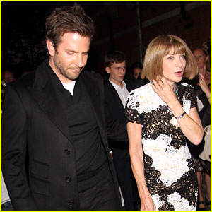 Bradley Cooper & Anna Wintour Enjoy a Night on the Town!