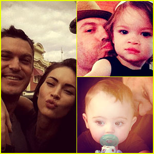 Brian Austin Green Joins Instagram, Posts Pics of Megan Fox & Their Kids!