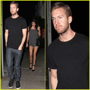 Calvin Harris Steps Out with Model Aarika Wolf & Debuts 'Blame' Music Video - Watch Here!