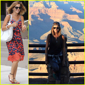 Camilla Belle Stops by the Grand Canyon During Fun Road Trip