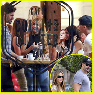Channing Tatum & Joe Manganiello Double Date with Their Lovely Ladies!