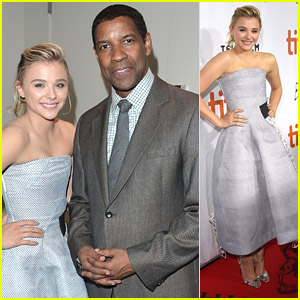 Chloe Moretz & Denzel Washington Bring 'The Equalizer' to TIFF 2014