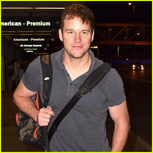 Chris Pratt Heads to New York for 'Saturday Night Live'