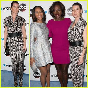 Ellen Pompeo & 'Grey's Anatomy' Cast Celebrate Creator Shonda Rhimes at TGIT Premiere
