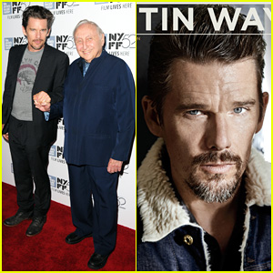 Ethan Hawke Hits Up the New York Film Festival for 'Seymour: An Introduction' Premiere!