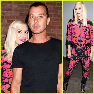 Gwen Stefani Gets Gavin Rossdale's Support at L.A.M.B. Show