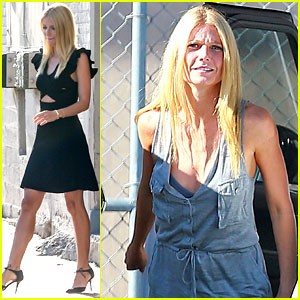 Gwyneth Paltrow Talks About Her Kids' First Day of School