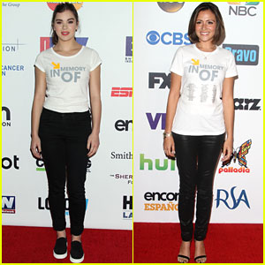 Hailee Steinfeld & Italia Ricci Show Their Support at Stand Up to Cancer