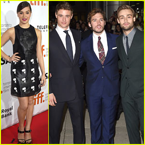 Hailee Steinfeld & 'The Riot Club' Cast Hit Up the Toronto Film Festival 2014!