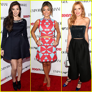 Hailee Steinfeld & Sarah Hyland Represent Young Hollywood at 'Teen Vogue' Party!
