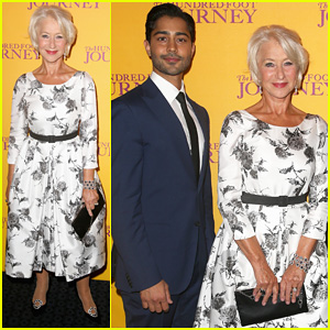Helen Mirren Joins Co-Stars at 'Hundred Foot Journey' UK Gala Screening!