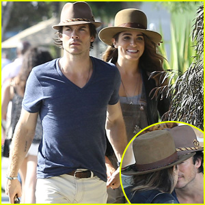Ian Somerhalder & Nikki Reed Pack on the PDA at WeHo Lunch