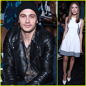 James Franco Shows His Urban Street Style at Opening Ceremony Fashion Show