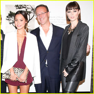 Jamie Chung & Coco Rocha Go 'On the Road with Origins'