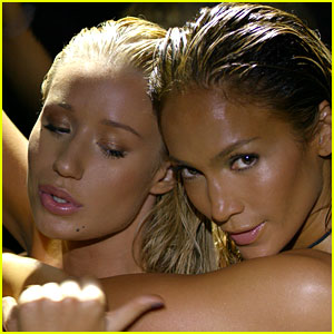 Jennifer Lopez's 'Booty' Video with Iggy Azale