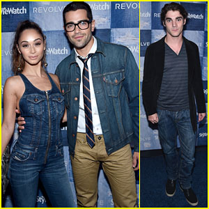 Jesse Metcalfe & RJ Mitte Break In Their Denim at People StyleWatch Party!