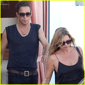 Kate Moss & Hubby Jamie Hince Wrap Up Their Summer Vacation