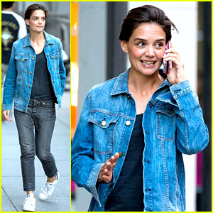 Katie Holmes Responds to 'Dawson's Creek' Reunion Hopes