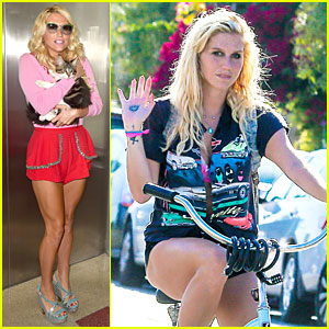 Kesha Can't Travel Without Her Cute Cat at LAX Airport