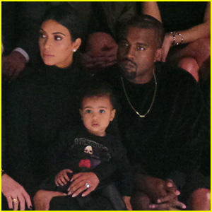 North West Makes Her Fashion Week Debut at Balenciaga with Mom Kim Kardashian & Dad Kanye West!