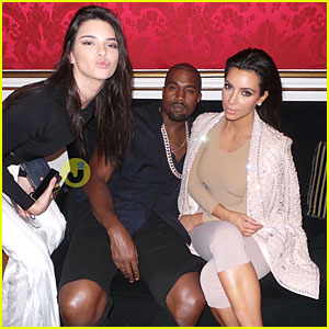 Kim Kardashian & Kanye West Are Such a Power Couple at Balmain Fashion Show After Party