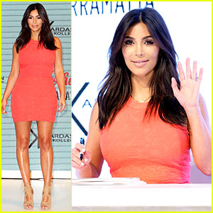 Kim Kardashian Praises Australian Women at Kardashian Kollection Launch