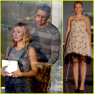 Kristen Bell Puts Pregnancy Style on Display for Samsung Ad!
